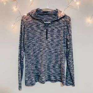 Columbia Grey Quarter Zip Top